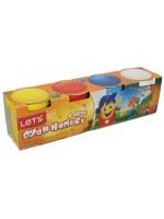 4 Renk Eğlenceli Oyun Hamuru Oyuncak