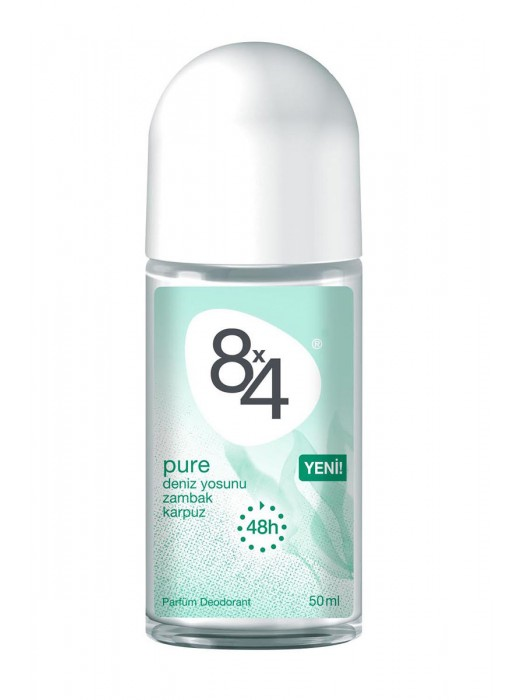 8X4 Roll-On 50 ML Pure