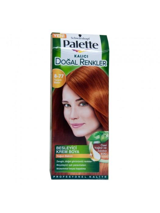 Palette Natural Saç Boyası  8-77 Tarçın Bakır
