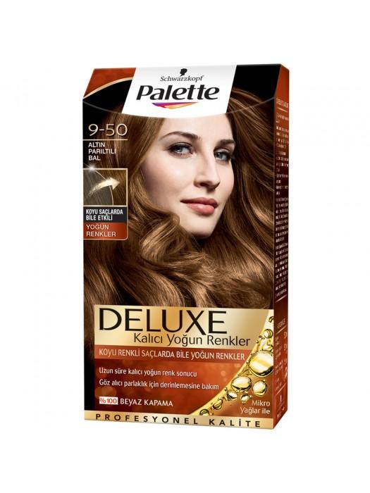 Palette Saç Boyası  9-50 Altın Parıltılı Bal