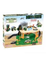 Aksesuarlı Askeriye Garaj Oyun Seti Oyuncak