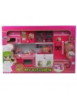 Işıklı Kutulu 4lü Modern Mutfak Seti Oyuncak