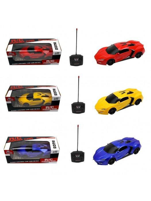Kumandalı Spor Model  Araba Oyuncak R/C 1:20