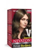 Nevaton Kalıcı Krem Saç Boyası 7.11 Kumral Yoğun Küllü
