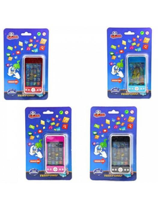 Renkli Kartela Cep Telefonu Oyuncak